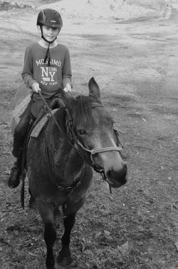 Happy Junior Horseman